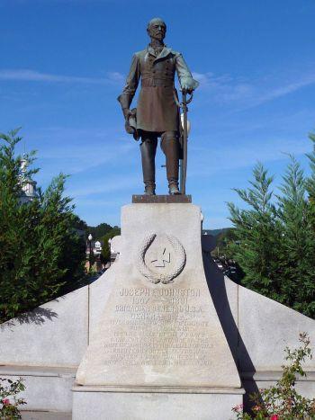 约瑟夫约翰斯顿在佐治亚州道尔顿的纪念馆