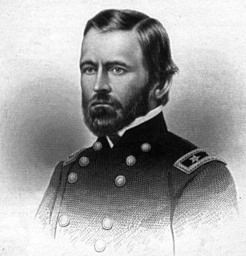 Ulysses S. Grant in seiner frühen Militärlaufbahn