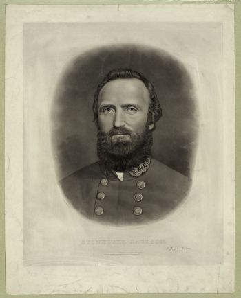 Il generale Jackson intorno al 1862