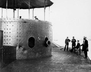 Geschützturm der USS Monitor