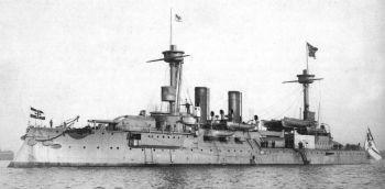 Schwesterschiff SMS Brandenburg
