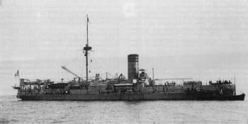 Corvette de cuirasse le SMS Sachsen