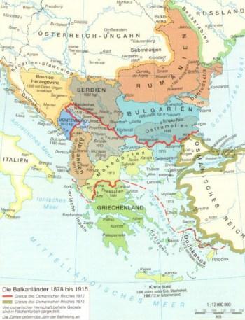 Der Balkan bis 1915