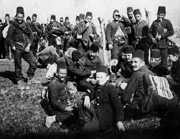 奥斯曼帝国的士兵