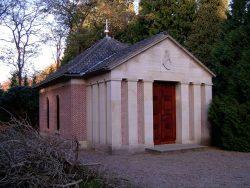 陵墓与威廉二世遗骸。