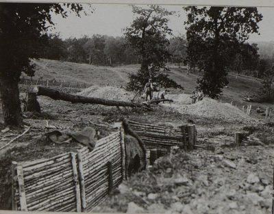 Kaiserschanze der 10. Landwehr Division in Szelwowo