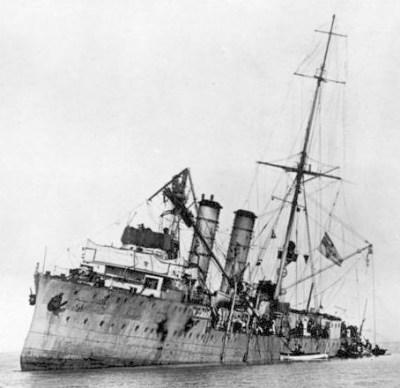 Les SMS Albatross en raison de devant Gotland
