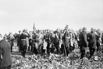 Гельмут фон Мольтке при маневре войск в 1905