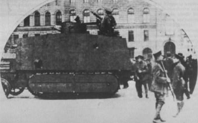 Машины Мари II 1919 в Берлине