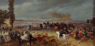 Schlacht von Königgrätz (Gemälde von Georg Bleibtreu)