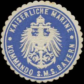 Sceau du SMS Bayern
