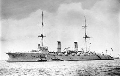 СМС Ганзу после реконструкции как учебный корабль