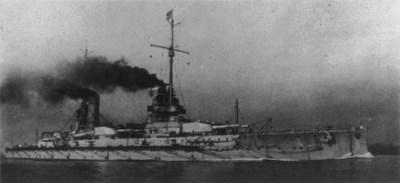 Большое рейсовое судно СМС императора