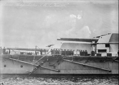 Pistole posteriori dell'SMS Kaiser