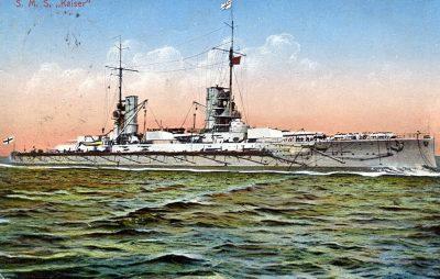 Cartolina postale corazzata SMS Kaiser