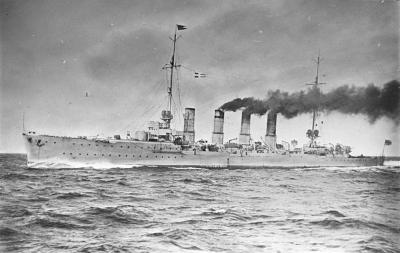 Small cruiser SMS Karlsruhe