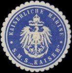 Marchio di tenuta dell'SMS Kaiser