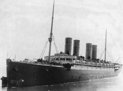 Auxiliary cruiser Kronprinz Wilhelm
