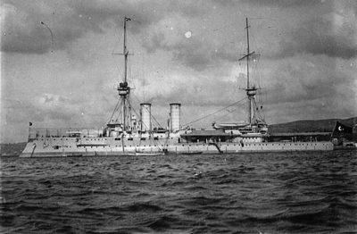 La nave ammiraglia della flotta ottomana Barbaros Hayreddin