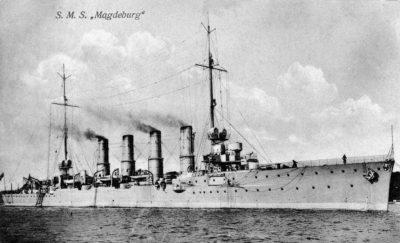 Small cruiser SMS Magdeburg