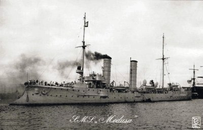 Small cruiser SMS Medusa
