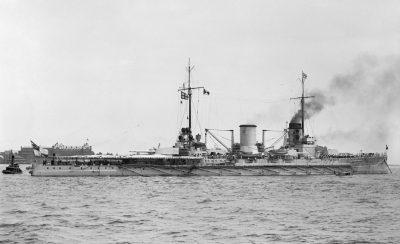 SMS Moltke visite les Etats-Unis 1912