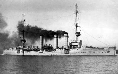 Small cruiser SMS Stuttgart