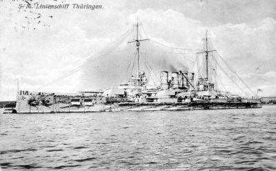 Battleship SMS Thüringen