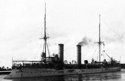 Small cruiser SMS Thetis