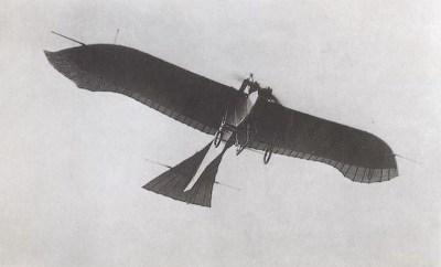 Школьная ткань и самолет-разведчик Этрих (Румплер) голубь