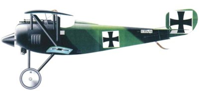 Siemens-Schuckert D.I of the 7th squadron of fighters