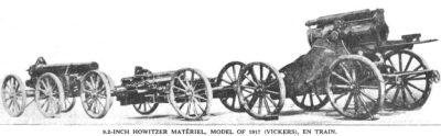 BL 9,2英寸榴弹炮准备运输