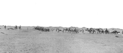 The Camel Battery with BLC 15 pounds after taking Hatum, 5 January 1918