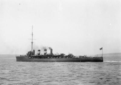 Легкий крейсер ГиС Амфион