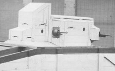 Modèle en bois de la Mark VI
