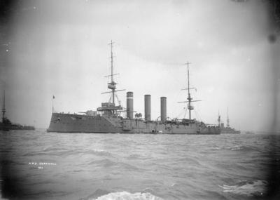 Navire de combat HMS Cornwall