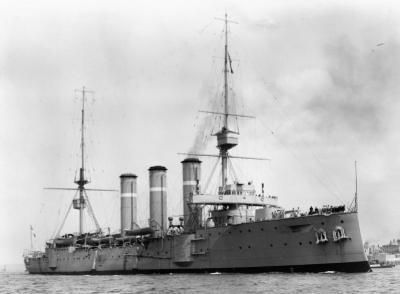 Navire de combat HMS Cumberland