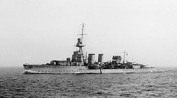 Croiseur léger HMS Curlew