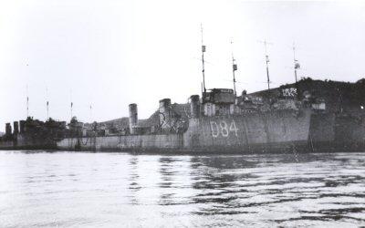 Destructeur HMS Meteor