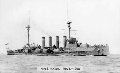 Croiseur blindé HMS Natal