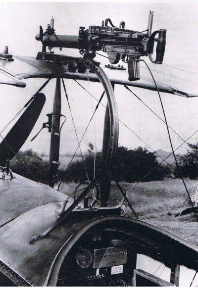 Афро 504 при помощи смонтированного пулемета