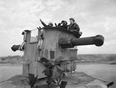 Члены экипажа на наблюдательной вышке ГиС Рефенге