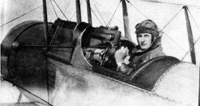 Bristol Scout con mitragliatrice Vickers sincronizzata