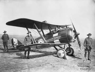 Айрко DH. 5 Ауштралиан Флюинг корпус в сентябре 1917