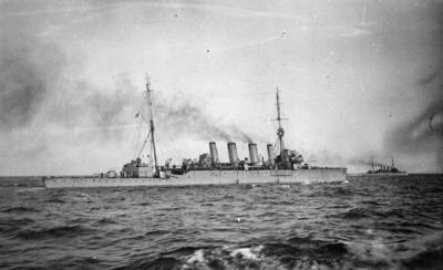 Легкий крейсер ГМС Саутгемптон
