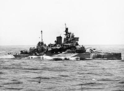 Le HMS Valiant pendant la Seconde Guerre mondiale