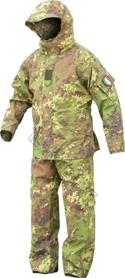 Completo Vegetato Italiano  Abbigliamento Militare