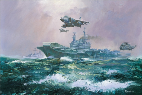 Hermes Harrier - Military Times - Mark Bromley