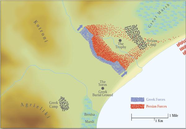 The Battle Of Marathon 490 Bc Military History Matters