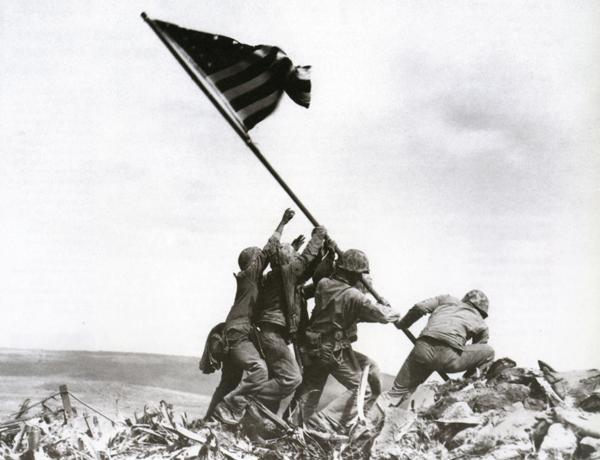 Raising The Flag On Iwo Jima, Joe Rosenthal